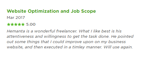 job scope and optimization