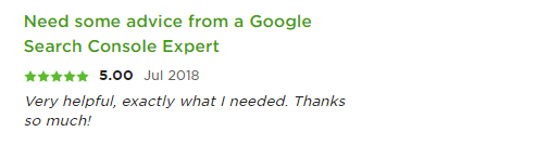 google search console expert